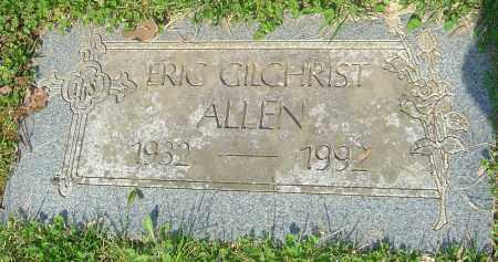ALLEN, ERIC GILCRIST - Franklin County, Ohio | ERIC GILCRIST ALLEN - Ohio Gravestone Photos