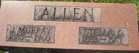 GLADFELTY ALLEN, STELLA - Franklin County, Ohio | STELLA GLADFELTY ALLEN - Ohio Gravestone Photos