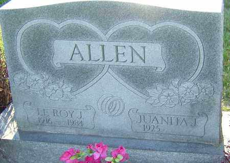 ALLEN, LE ROY - Franklin County, Ohio | LE ROY ALLEN - Ohio Gravestone Photos