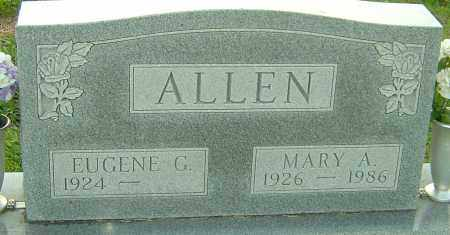 ALLEN, MARY - Franklin County, Ohio | MARY ALLEN - Ohio Gravestone Photos