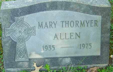 THORMYER ALLEN, MARY - Franklin County, Ohio | MARY THORMYER ALLEN - Ohio Gravestone Photos