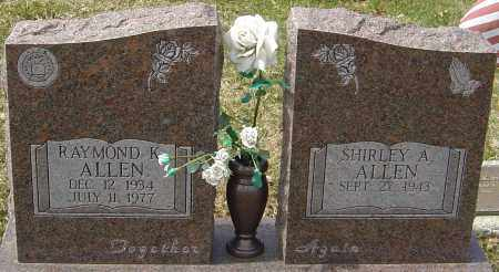 ALLEN, RAYMOND K - Franklin County, Ohio | RAYMOND K ALLEN - Ohio Gravestone Photos