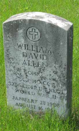 ALLEN, WILLIAM DAVID - Franklin County, Ohio | WILLIAM DAVID ALLEN - Ohio Gravestone Photos