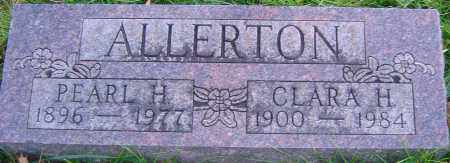 ALLERTON, PEARL - Franklin County, Ohio | PEARL ALLERTON - Ohio Gravestone Photos