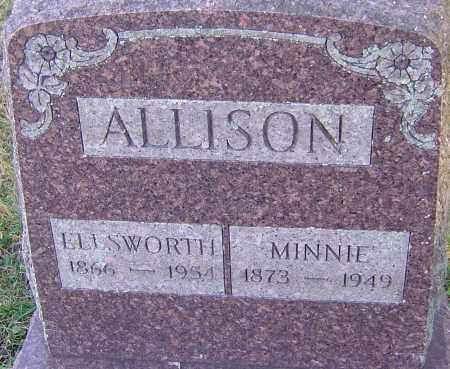 SNOW ALLISON, MINNIE H - Franklin County, Ohio | MINNIE H SNOW ALLISON - Ohio Gravestone Photos