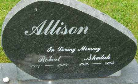 ALLISON, ROBERT - Franklin County, Ohio | ROBERT ALLISON - Ohio Gravestone Photos