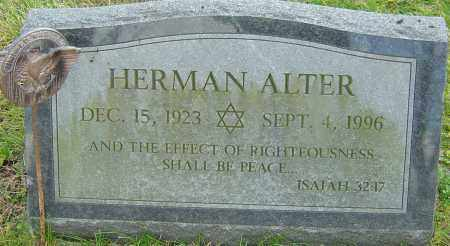 ALTER, HERMAN - Franklin County, Ohio | HERMAN ALTER - Ohio Gravestone Photos