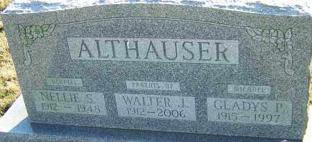 ALTHAUSER, NELLIE - Franklin County, Ohio | NELLIE ALTHAUSER - Ohio Gravestone Photos