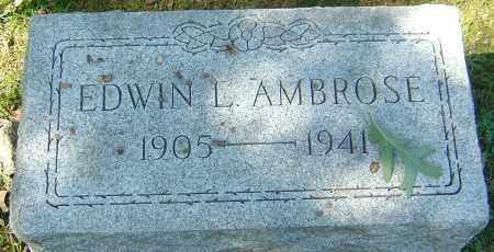 AMBROSE, EDWIN LEICHLITER - Franklin County, Ohio | EDWIN LEICHLITER AMBROSE - Ohio Gravestone Photos