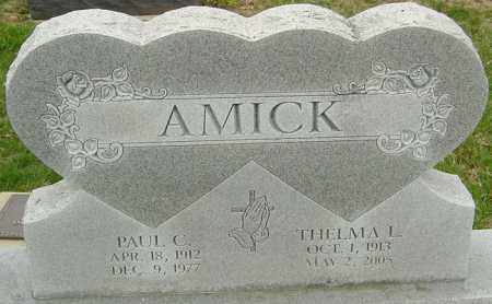 AMICK, PAUL - Franklin County, Ohio | PAUL AMICK - Ohio Gravestone Photos