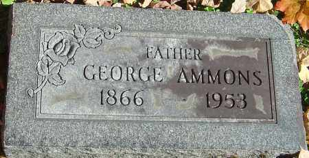 AMMONS, GEORGE - Franklin County, Ohio | GEORGE AMMONS - Ohio Gravestone Photos