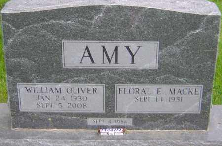 AMY, WILLIAM OLIVER - Franklin County, Ohio | WILLIAM OLIVER AMY - Ohio Gravestone Photos