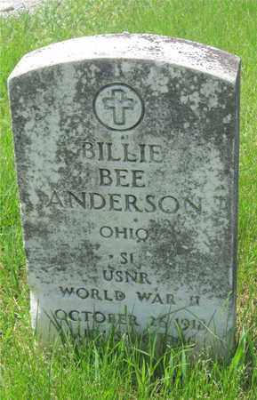 ANDERSON, BILLIE BEE - Franklin County, Ohio | BILLIE BEE ANDERSON - Ohio Gravestone Photos