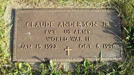 ANDERSON, CLAUDE - Franklin County, Ohio | CLAUDE ANDERSON - Ohio Gravestone Photos