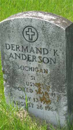 ANDERSON, DERMAND K. - Franklin County, Ohio | DERMAND K. ANDERSON - Ohio Gravestone Photos