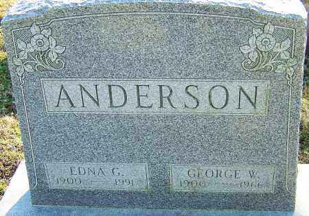 ANDERSON, GEORGE - Franklin County, Ohio | GEORGE ANDERSON - Ohio Gravestone Photos