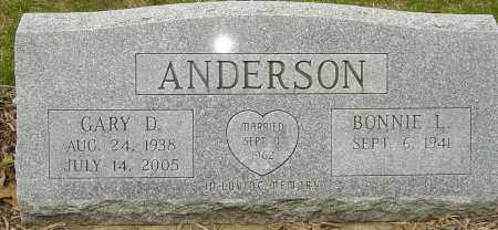 ANDERSON, GARY D - Franklin County, Ohio | GARY D ANDERSON - Ohio Gravestone Photos