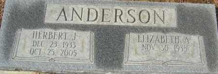 ANDERSON, HERBERT J - Franklin County, Ohio | HERBERT J ANDERSON - Ohio Gravestone Photos