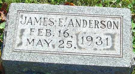 ANDERSON, JAMES E - Franklin County, Ohio | JAMES E ANDERSON - Ohio Gravestone Photos