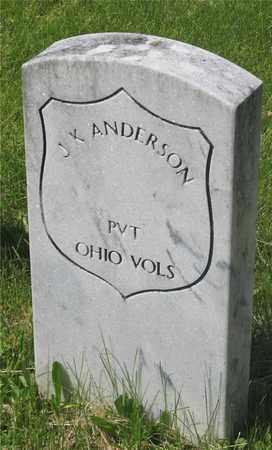 ANDERSON, J.K. - Franklin County, Ohio | J.K. ANDERSON - Ohio Gravestone Photos