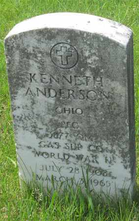 ANDERSON, KENNETH - Franklin County, Ohio | KENNETH ANDERSON - Ohio Gravestone Photos