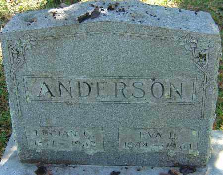 MORTIMORE ANDERSON, EVA LEOTA - Franklin County, Ohio | EVA LEOTA MORTIMORE ANDERSON - Ohio Gravestone Photos