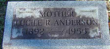 REASER ANDERSON, LUCILE - Franklin County, Ohio | LUCILE REASER ANDERSON - Ohio Gravestone Photos