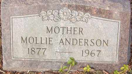 ANDERSON, MOLLIE - Franklin County, Ohio | MOLLIE ANDERSON - Ohio Gravestone Photos