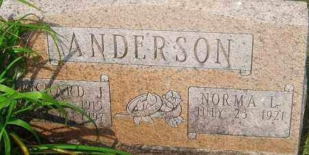 ANDERSON, RICHARD J - Franklin County, Ohio | RICHARD J ANDERSON - Ohio Gravestone Photos