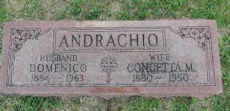 ANDRACHIO, CONCETTA M. - Franklin County, Ohio | CONCETTA M. ANDRACHIO - Ohio Gravestone Photos