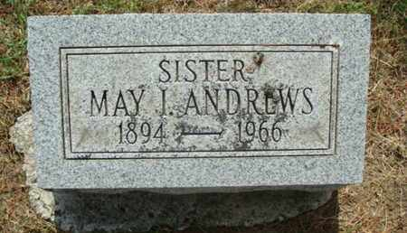 ANDREWS, MAY IRENE - Franklin County, Ohio | MAY IRENE ANDREWS - Ohio Gravestone Photos
