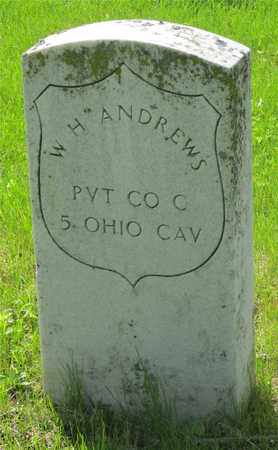 ANDREWS, W. H. - Franklin County, Ohio | W. H. ANDREWS - Ohio Gravestone Photos