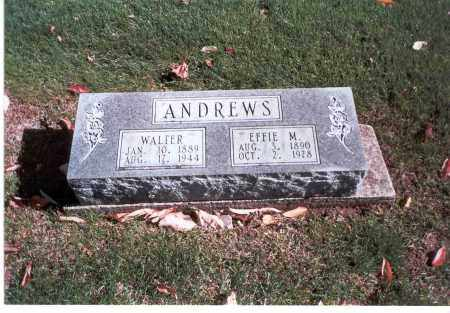 ANDREWS, WALTER - Franklin County, Ohio | WALTER ANDREWS - Ohio Gravestone Photos
