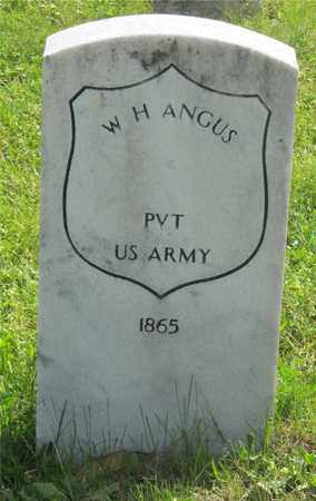 ANGUS, W. H. - Franklin County, Ohio | W. H. ANGUS - Ohio Gravestone Photos