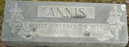 ANNIS, NORMAN - Franklin County, Ohio | NORMAN ANNIS - Ohio Gravestone Photos