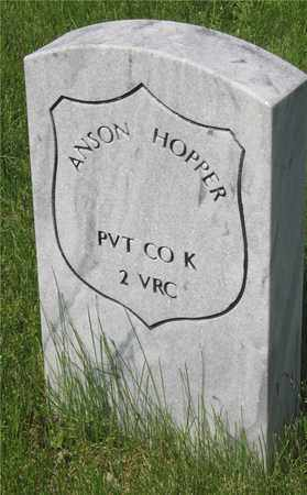 ANSON, HOPPER - Franklin County, Ohio | HOPPER ANSON - Ohio Gravestone Photos