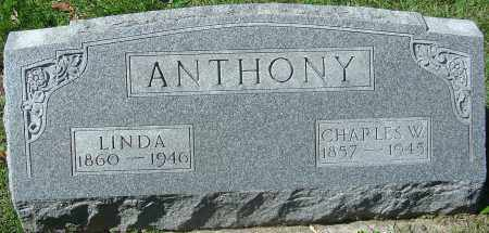 ANTHONY, CHARLES W - Franklin County, Ohio | CHARLES W ANTHONY - Ohio Gravestone Photos