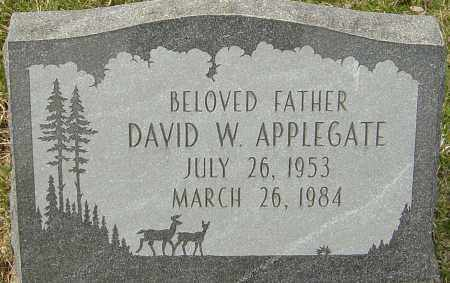 APPLEGATE, DAVID W - Franklin County, Ohio | DAVID W APPLEGATE - Ohio Gravestone Photos
