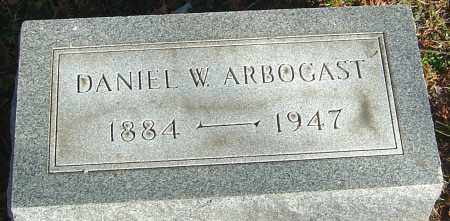 ARBOGAST, DANIEL W - Franklin County, Ohio | DANIEL W ARBOGAST - Ohio Gravestone Photos