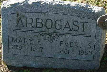 ARBOGAST, MARY E - Franklin County, Ohio | MARY E ARBOGAST - Ohio Gravestone Photos