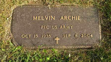 ARCHIE, MELVIN - Franklin County, Ohio | MELVIN ARCHIE - Ohio Gravestone Photos
