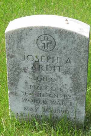 ARDIT, JOSEPH - Franklin County, Ohio | JOSEPH ARDIT - Ohio Gravestone Photos