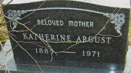 ARGUST, KATHERINE - Franklin County, Ohio | KATHERINE ARGUST - Ohio Gravestone Photos