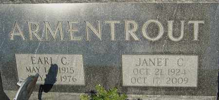 ARMENTROUT, JANET - Franklin County, Ohio | JANET ARMENTROUT - Ohio Gravestone Photos