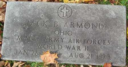 ARMOND, JACK B - Franklin County, Ohio | JACK B ARMOND - Ohio Gravestone Photos