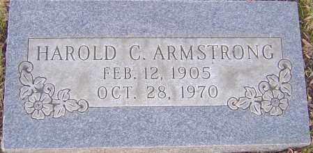 ARMSTRONG, HAROLD C - Franklin County, Ohio | HAROLD C ARMSTRONG - Ohio Gravestone Photos