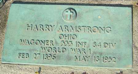ARMSTRONG, HARRY - Franklin County, Ohio | HARRY ARMSTRONG - Ohio Gravestone Photos