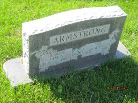 ARMSTRONG, MAUDE - Franklin County, Ohio | MAUDE ARMSTRONG - Ohio Gravestone Photos