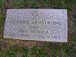 ARMSTRONG, RICHARD - Franklin County, Ohio | RICHARD ARMSTRONG - Ohio Gravestone Photos