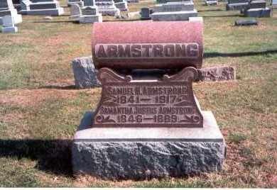 ARMSTRONG, SAMUEL H. - Franklin County, Ohio | SAMUEL H. ARMSTRONG - Ohio Gravestone Photos